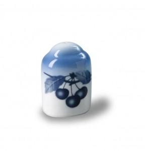 Porcelánová Solnička a pepřenka Cairo český porcelán Thun 2ks Modré třešně - Cherry