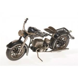 Plechový model Motocykl černý