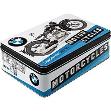 Plechová retro dóza - plechovka BMW motorcycles