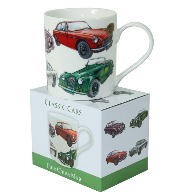 Keramický hrnek Auta - Classic cars