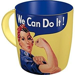 Keramický hrnek We can do it