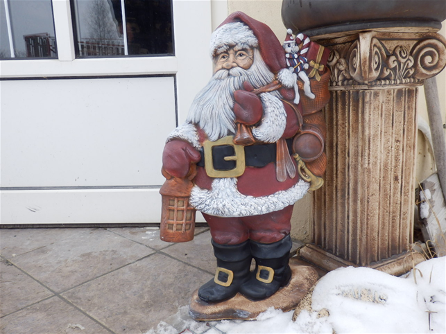 Vánoční dekorace - Santa Klaus