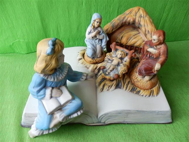 Vánoční dekorace - Bertém bible