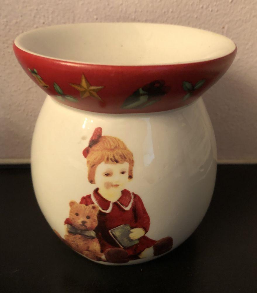 Keramická aromalampa Vánoce - Medvídek