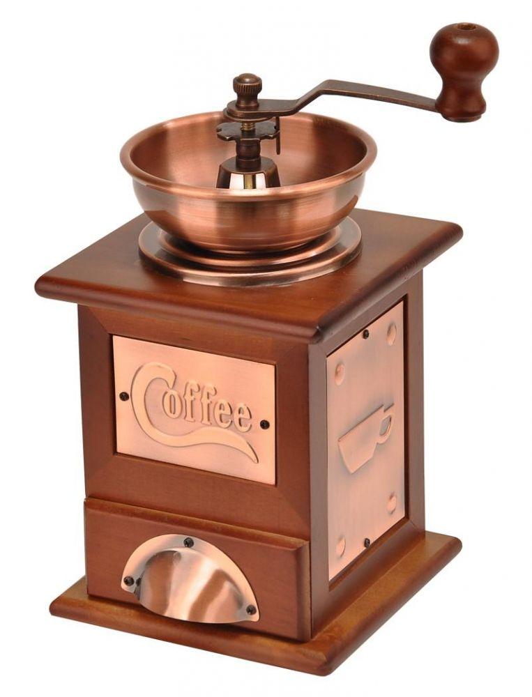 Dřevěný mlýnek na kávu Coffee
