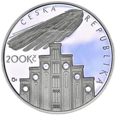 Stříbrná mince 100. výročí úmrtí Josefa Hlávky b.k.