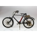 Plechový retro model Jízdní kolo černé