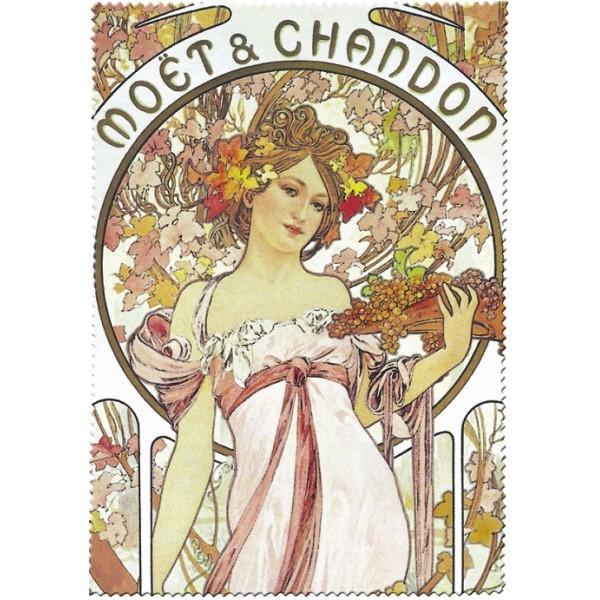 Utěrka na brýle Chandon Moet Alfons Mucha