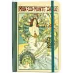 Krásný deníček - zápisník Alfons Mucha Monaco Monte Carlo