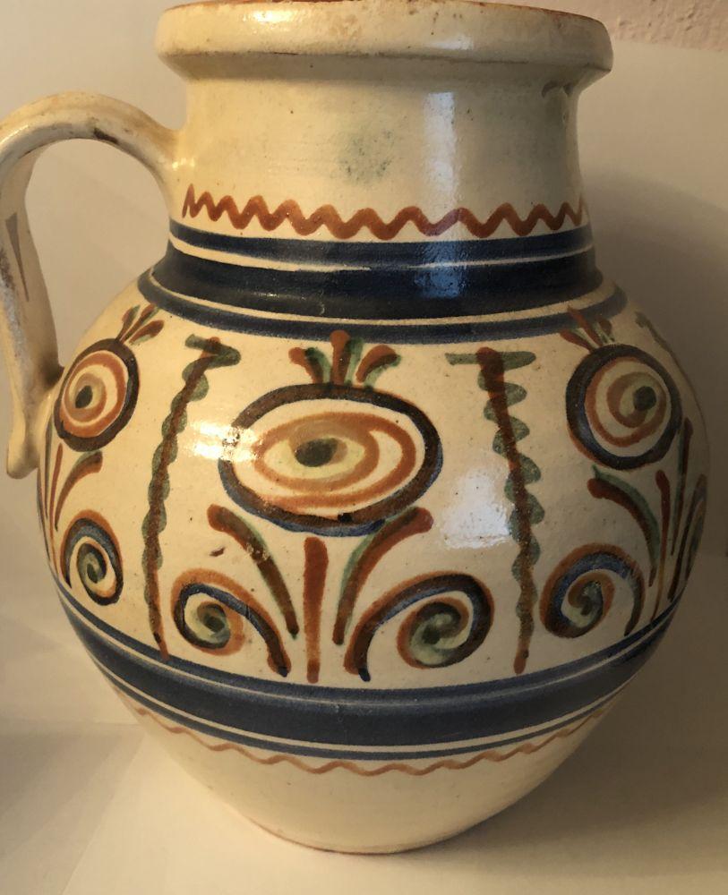 Starožitný keramický džbán