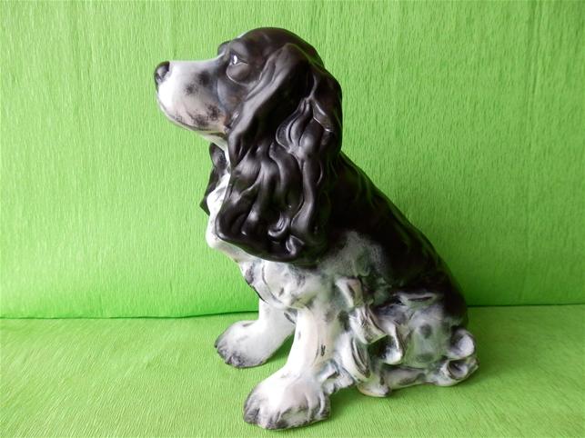 Keramický pes Kokršpaněl color
