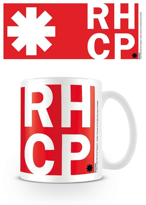 Keramický hrnek Red Hot Chili Peppers - RHCP