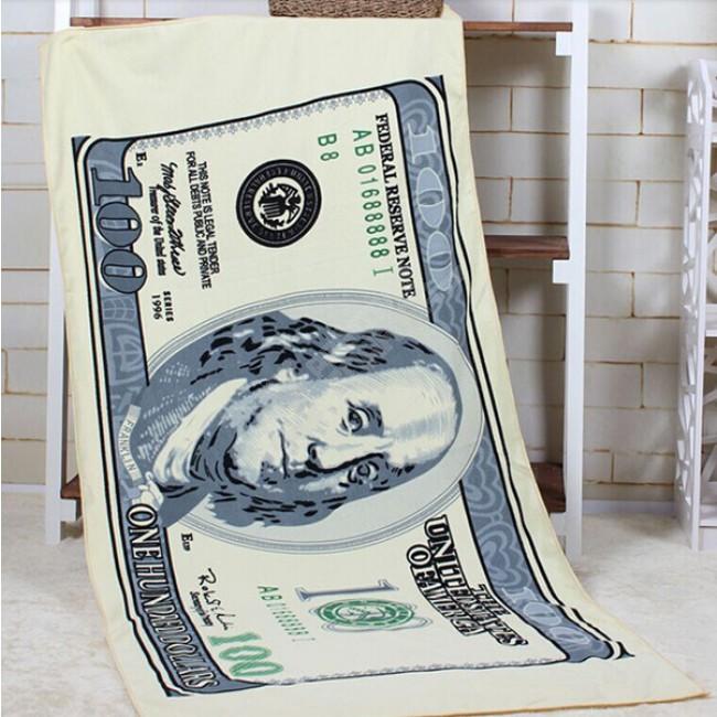 Velká osuška - ručník Dollar