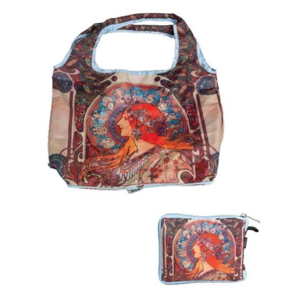 Skládací taška Alfons Mucha - Zodiak