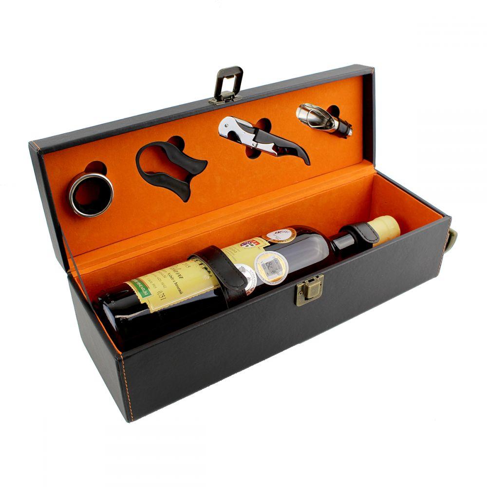 Luxusní dárkový box na jednu láhev vína