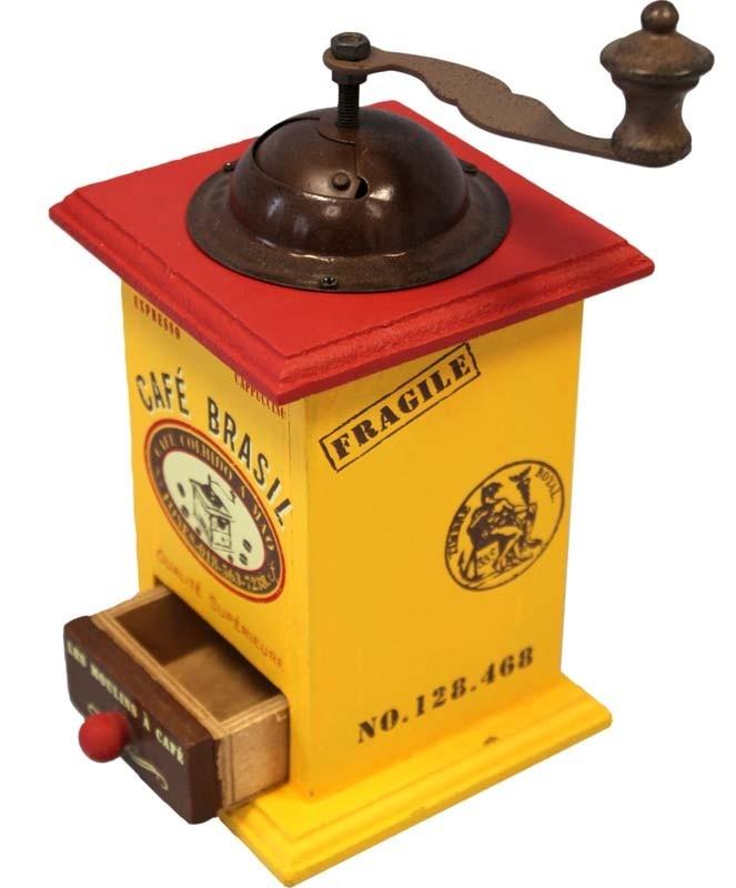 Dřevěný mlýnek na kávu Café Brasil