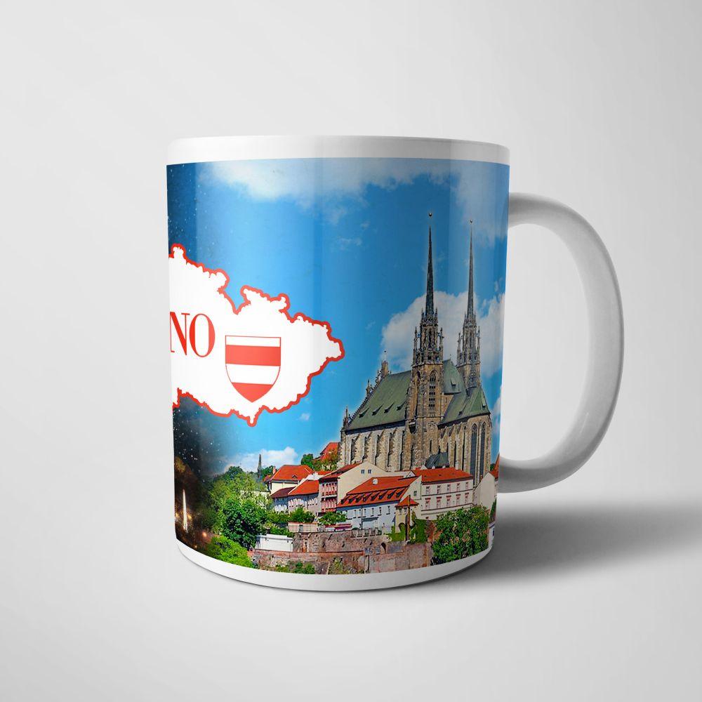 Keramický hrnek Brno znak
