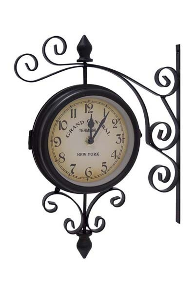 Kovové nádražní hodiny Grand cental New york S