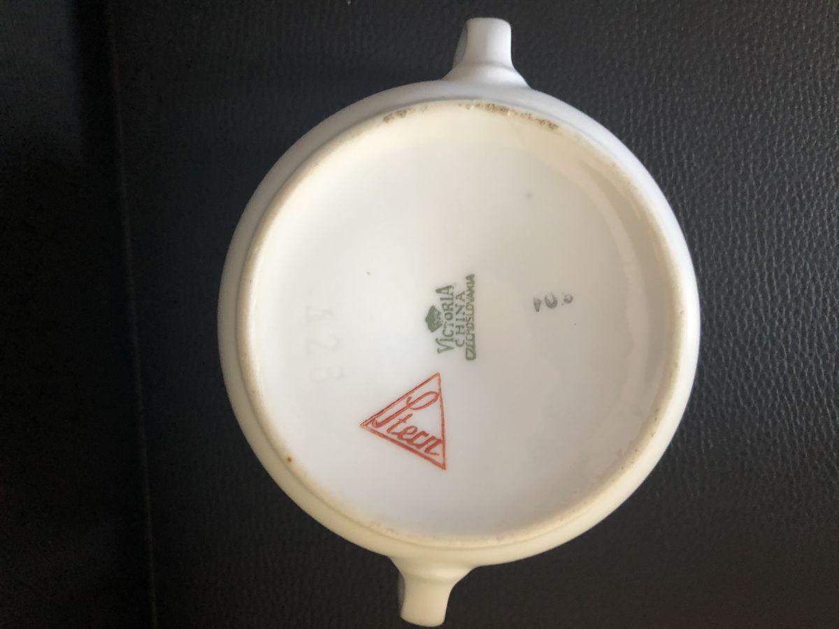 Porcelánová cukřenka Stern