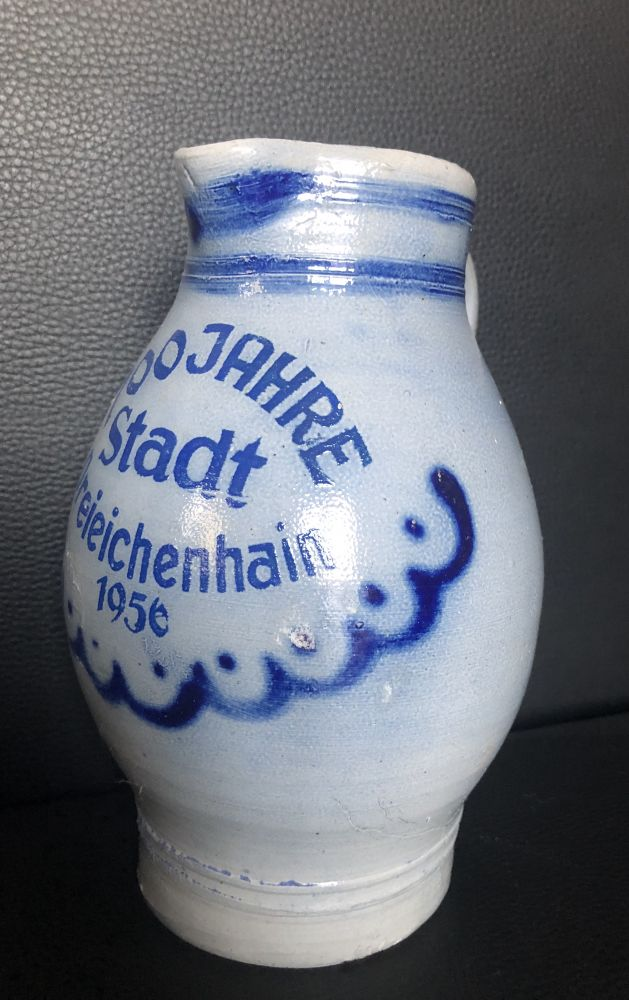 Keramický džbán 700 jähre statd Dreieichenhain