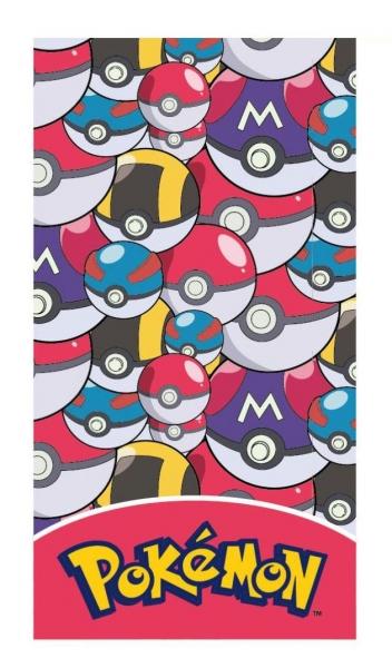 Ručník Osuška Pokémon Pokeball