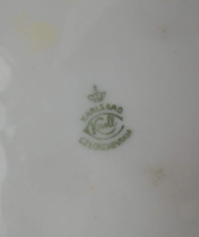 Starožitná keramická slánka Sůl signováno