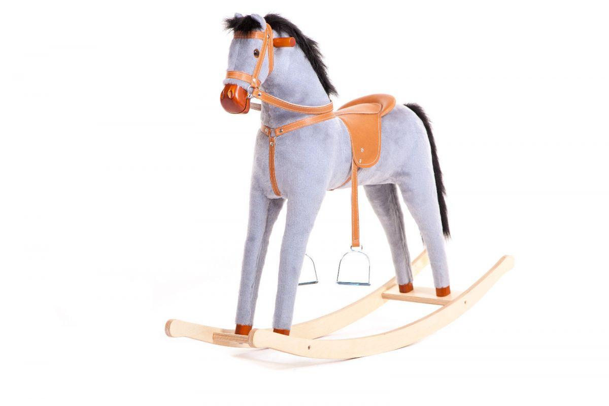 Houpací kůň - Šedý