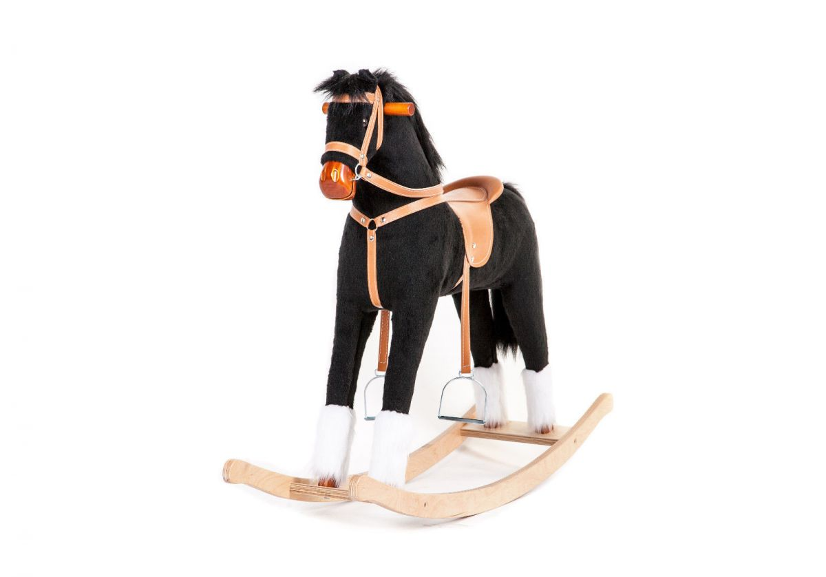 Houpací kůň - Černý