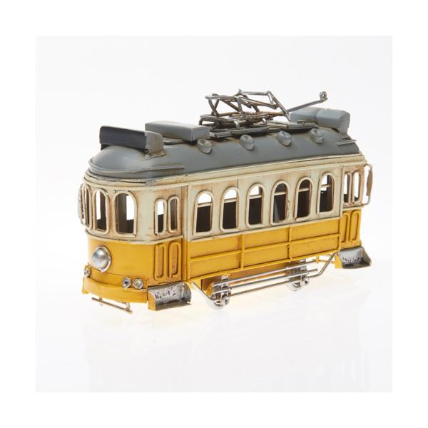 Plechový retro model Tramvaj Šalina