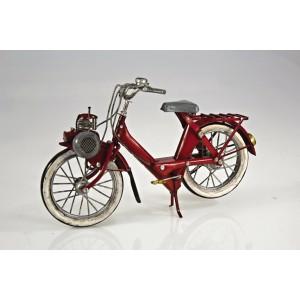 Plechový retro model Jízdní kolo s motorem