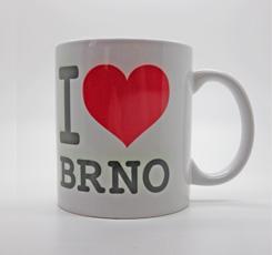 Keramický hrnek Brno I love Brno