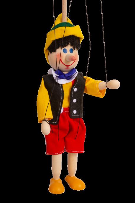 Loutka Pinokio 20 cm 2