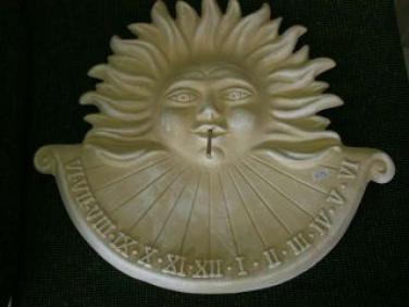 Keramické sluneční hodiny Natural L