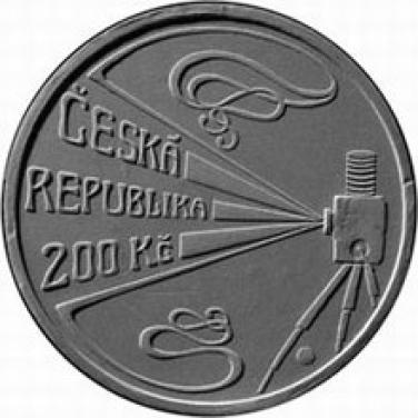 Stříbrná mince 2008 mince 200 Kč 150. výročí narození Viktor Ponrepo proof