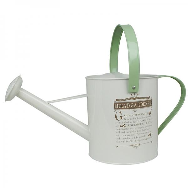Plechová konvička The head gardener