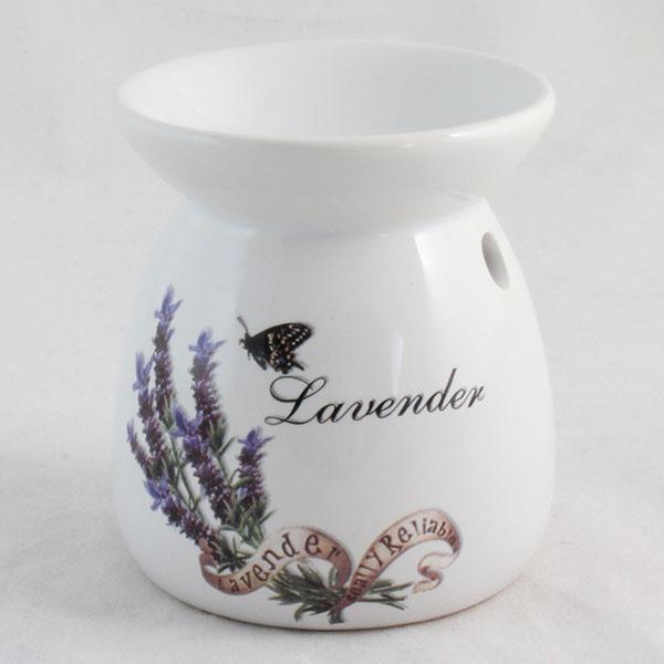 Keramická aromalampa Levander + aromaolej