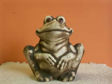 Žába Pohoda sedící