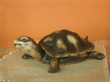 Keramická Želva s krunýřem velká L