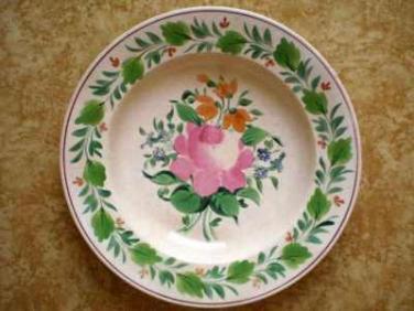 Ručně malovaný talíř Olomoučany Blansko Schutz
