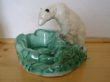 Popelník Lední medvěd RETRO - VYPRODÁNO