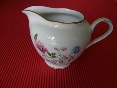 Porcelánová mléčenka Wintering Roslau