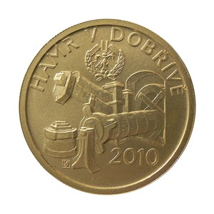 Zlatá mince Hamr v Dobřívi, Dobřívě proof