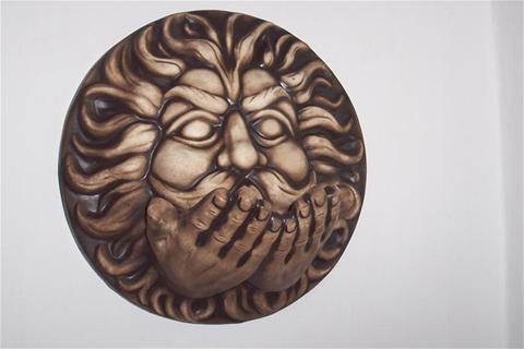 Keramika na zeď Vítr