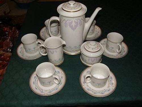 Porcelánový servis Loučky