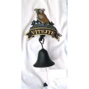 Litonový zvonek Vítejte