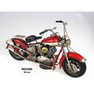 Plechový model Motorka US styl