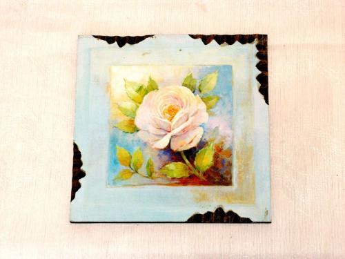 Obraz na dřevě Růže 1