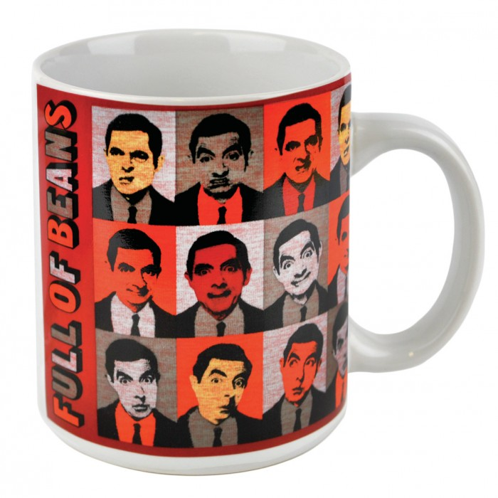 Hrnek Mr. Bean - Hlavy