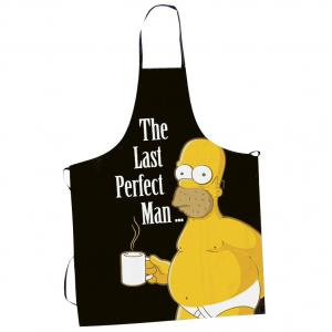 Kuchyňská zástěra The Simpsons - The last perfect man
