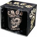 Porcelánový hrnek Lebka - CBGB